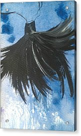 Brush With The Dark Side Acrylic Print by Tree Girly
