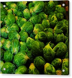 Brussel Sprouts Acrylic Print