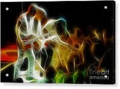 Bryan Adams-neighbors-ge5-fractal Acrylic Print by Gary Gingrich Galleries