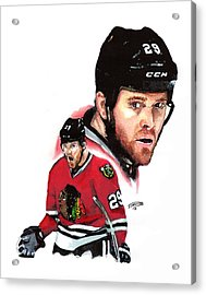 Bryan Bickell Acrylic Print by Jerry Tibstra