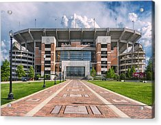 Acrylic Print featuring the photograph Bryant Denny Stadium by Ben Shields