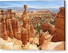 Bryce Canyon 3 Acrylic Print by Mike McGlothlen