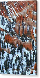 Bryce Canyon Series Nbr 22 Acrylic Print by Scott Cameron