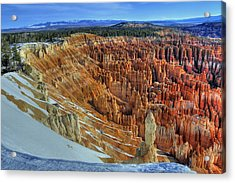 Acrylic Print featuring the photograph Bryce Canyon Sunrise by Dan Myers