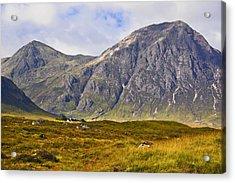 Buachaille Etive Mor - Glencoe Acrylic Print