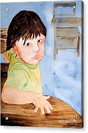 Bubba At School Acrylic Print