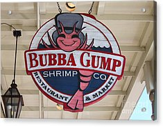 Bubba Gump Shrimp Co. Acrylic Print