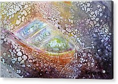 Acrylic Print featuring the painting Bubble Boat by Kathleen Pio
