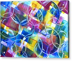 Bubble Fun Acrylic Print