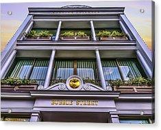 Bubble Street Acrylic Print