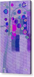 Bubble Tree - S85lc03 Acrylic Print by Variance Collections
