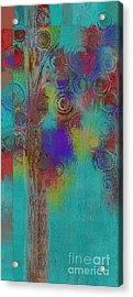 Bubble Tree - Sped09r Acrylic Print