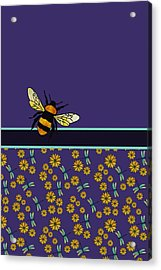 Bubblebee And Friends Acrylic Print by Jenny Armitage