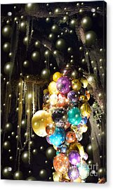 Bubbles And Balloons Acrylic Print