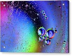 Bubbles Acrylic Print by EXparte SE
