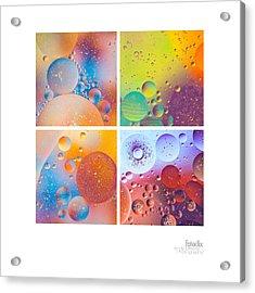 Bubbles I Acrylic Print
