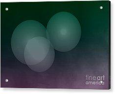 Bublles Acrylic Print by Bernard MICHEL