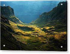 Bucegi Mountains Acrylic Print