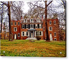 Buchanan House Acrylic Print