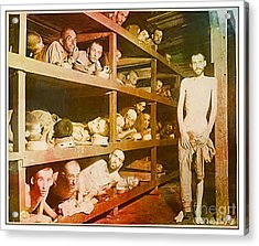 Buchenwald Concentration Camp Acrylic Print