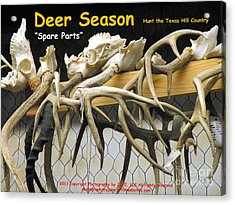 Buck Fever Acrylic Print by Joe Jake Pratt