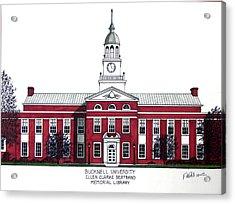 Bucknell University Acrylic Print