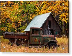 Buckner Orchard Acrylic Print by Mark Kiver