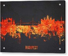 Budapest Hungary Acrylic Print by Aged Pixel