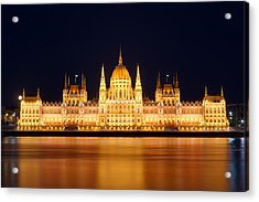 Budapest Parliament Acrylic Print by Ioan Panaite