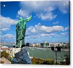 Budapest. View From Gellert Hill Acrylic Print