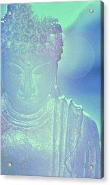 Buddah Bokeh Acrylic Print