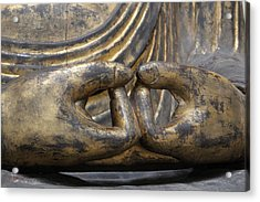 Acrylic Print featuring the photograph Buddha 3 by Lynn Sprowl