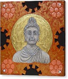Buddha Acrylic Print by Anna Maria Guarnieri