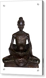 Buddha Attitude Subduing Himself Image Acrylic Print