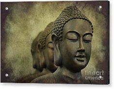 Buddha Bronze Acrylic Print