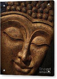 Buddha Acrylic Print by Elena Nosyreva
