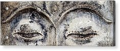 Acrylic Print featuring the photograph Buddha Eyes by Roselynne Broussard