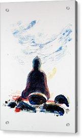 Buddha Fifty-one Acrylic Print by Valerie Lynch