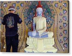 Buddha In Making Acrylic Print