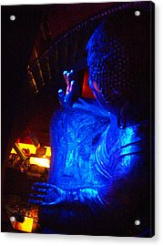 Acrylic Print featuring the photograph Buddha by Julia Ivanovna Willhite
