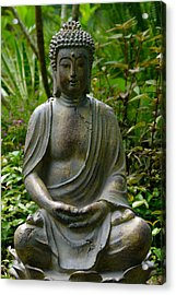 Acrylic Print featuring the photograph Buddha by Keith Hawley