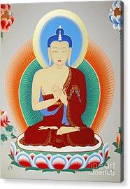 Buddha Maitreya Acrylic Print by Sergey Noskov