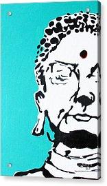 Acrylic Print featuring the painting Buddha by Nicole Gaitan