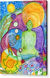 Buddha Of Infinite Possibilities Acrylic Print