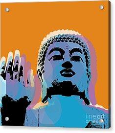 Buddha Pop Art - Warhol Style Acrylic Print