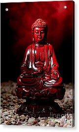 Buddha Statue Figurine Acrylic Print