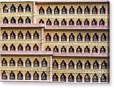 Buddha Wall Acrylic Print by Tim Gainey