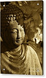 Acrylic Print featuring the photograph Buddha's Kiss by Catherine Fenner