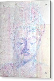 Buddhist Queen Of Long Ago Acrylic Print