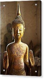 Buddhist Statues G - Photograph By Jo Ann Tomaselli  Acrylic Print
